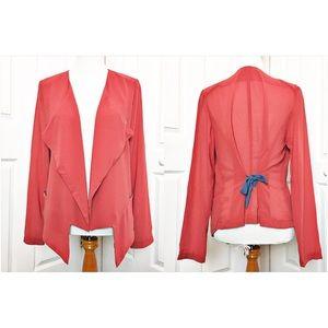 Umgee Jackets & Blazers - Umgee Sheer Blazer NWOT