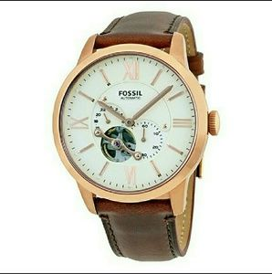 fossil Other - NWT Fossil AUTOMATIC beige men's watch