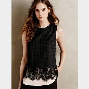 Anthropologie Tops - ANTHROPOLOGIE Greylin layered Lilith tank XSP NWT