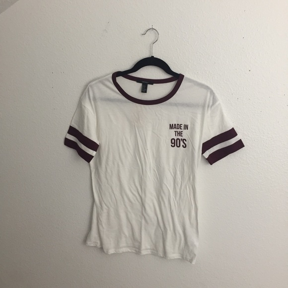 da1d59ff9 Forever 21 Tops   F21 Made In The 90s Top   Poshmark