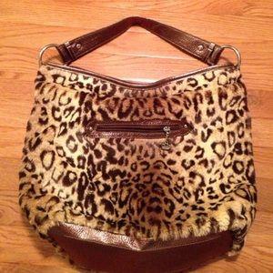 Katy Van Zeeland cheetah purse 👛