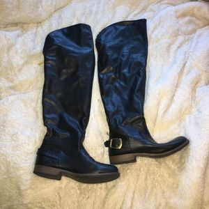 Rainbow Shoes - Over the knee boots