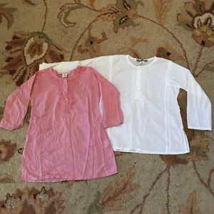 Bonpoint Other - Set of 2 cotton tunics Bonpoint Size 3 and 4