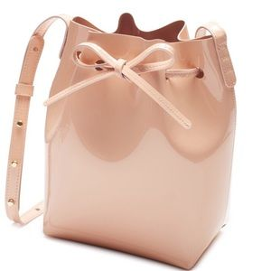Mansur Gavriel Mini Rosa Bucket Bag