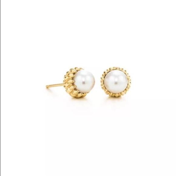 425f0d718 Tiffany & Co. Jewelry   Tiffany Co Pearl Acorns Jean Schlumberger ...