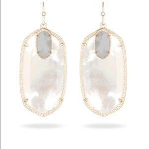 Kendra Scott Darcy Earrings Ivory Pearl