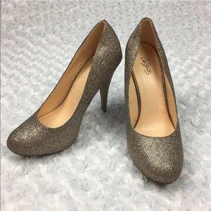 City Streets Womens Glitter Heels, Size 8M