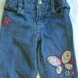 Osh Kosh Other - Oshkosh Butterfly Jeans