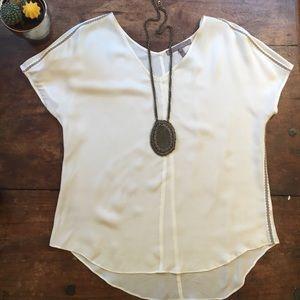 Halston Heritage Tops - Elegant 100% silk Halston Heritage blouse