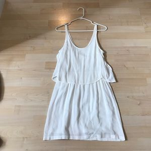 Zara White Dress Size Medium