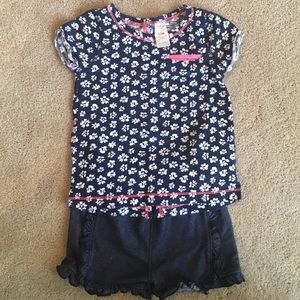 Osh Kosh Other - Navy & white Toddler Outfit