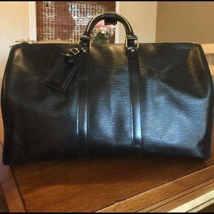 Louis Vuitton Handbags - Authentic Louis Vuitton Epi Leather Keepall 45 Bag