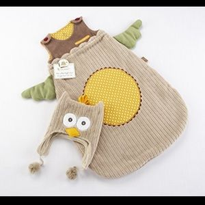 Baby Aspen Other - Baby Aspen Owl Sleep Sack with Hat