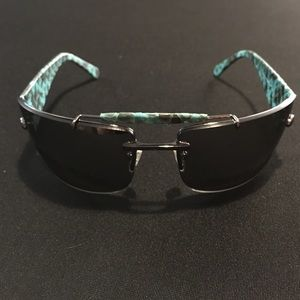 Technomarine Other - Blue Python Skin Unisex Technomarine Sunglasses