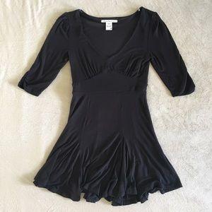 American Rag Dresses & Skirts - American Rag 3/4 Sleeve Fit and Flare Black Dress
