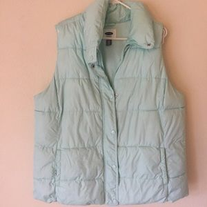 Old Navy Jackets & Blazers - 🔅 3 for $10 ON light blue puff vest