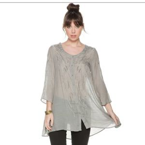 Monoreno Tops - Embroidered Tunic