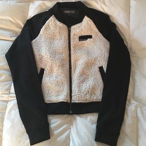Urban Outfitters Fleece Bomber Jacket
