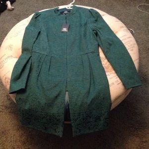 Tart Jackets & Blazers - NWT Tart Collections green jacket size L