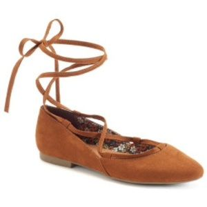 UNIONBAY Shoes - Unionbay brown ballet point toe flats sz 10 NEW