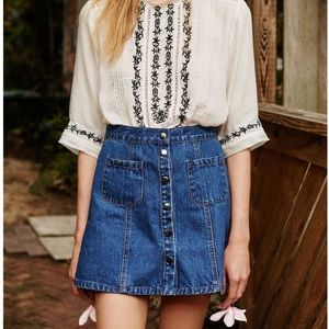 UO Denim Skirt