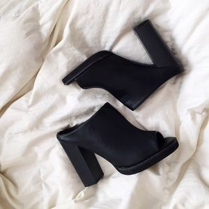 Reformation Shoes - asos stacked heel mule