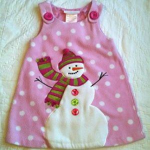 Bonnie Baby Other - Snowman Dress