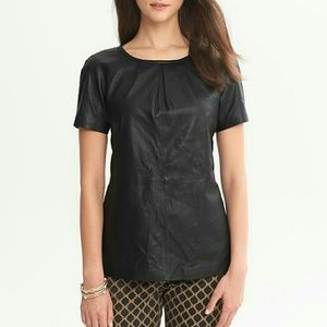 New genuine leather top