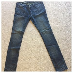 HURLEY JEANS, like new, Size 27