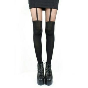 Betsey Johnson Little Striped Tights