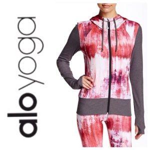 ALO Yoga Jackets & Blazers - NEW! ALO Flow jacket- desert sunset/stormy heather