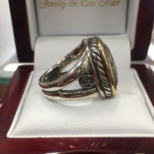 David Yurman Jewelry - David Yurman Two Tone Albion Ring