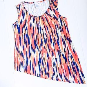 Grace Tops - Grace Woman Asymmetrical Sleeveless Top
