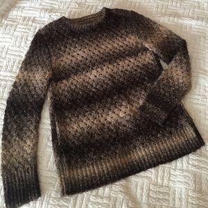Michael Stars Sweaters - Michael Stars Brown Chunky Knit Alpaca Sweater