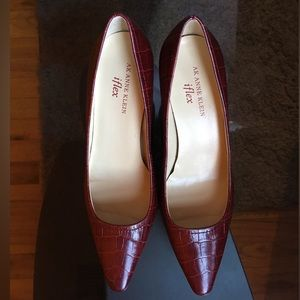Anne Klein Shoes - AK ANNE KLEIN iflex red shoes