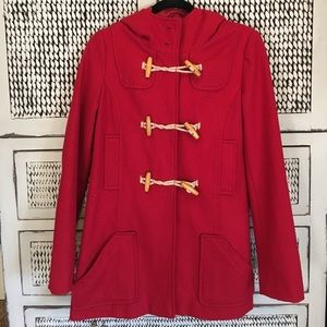 Jackets & Blazers - DELIAS RED PEACOAT women's size XS