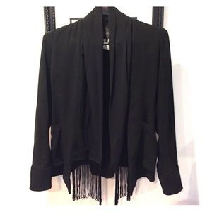 MM Couture Jackets & Blazers - MM Couture Fringe Jacket