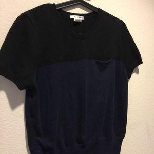 Carven Tops - Carven colorblock top sz large blue black