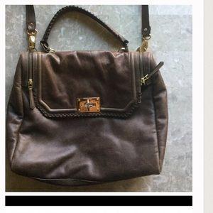 Be & D Handbags - BE & D retail 1,124.00 leather messenger/satchel