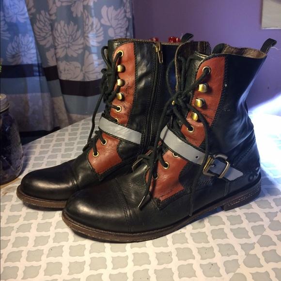 Unique Combat Boots