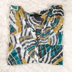 Cynthia Steffe Tops - Bright Printed Blouse