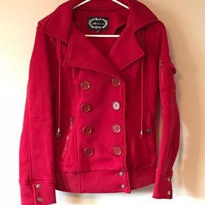 Ambiance Apparel Jackets & Blazers - Hooded Jacket