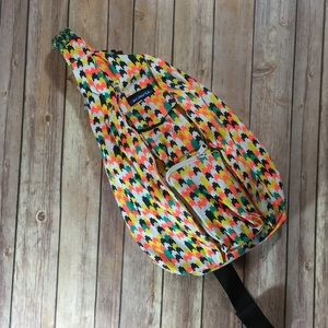 Kavu Rope Bag in Candy Stars