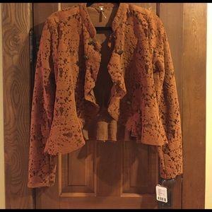Free People Jackets & Blazers - Free people lace military blazer size small