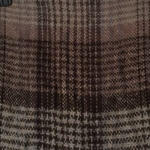Echo Accessories - Brown plaid scarf