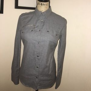 Barbour Tops - Barbour Shirt size 8