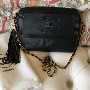 CHANEL VINTAGE TASSEL CROSSBODY