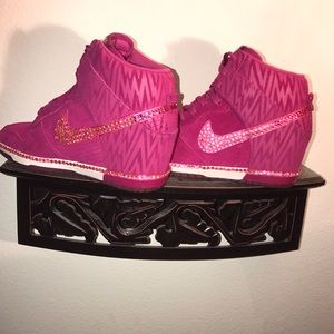 Women's Nike Dunk Sky Hi Wedge Sneakers Sz 8.5
