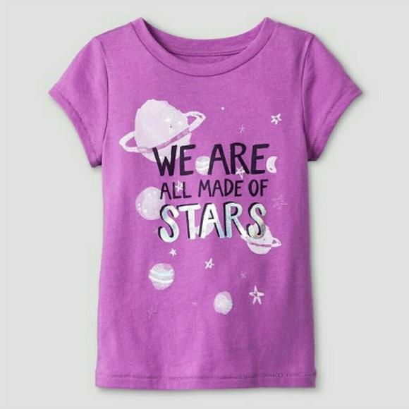d584eb484 Cat & Jack Shirts & Tops | Cat Jack Were All Made Of Stars | Poshmark