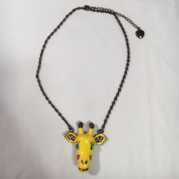 image necklace of giraffe